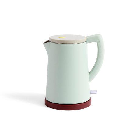 HAY Wasserkocher Sowden 1,5 l mintgrüner Edelstahl 22x16,5x25cm