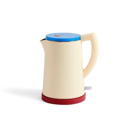 HAY Wasserkocher Sowden 1,5 l gelber Edelstahl 22 x 16,5 x 25 cm
