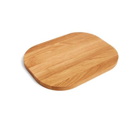HAY Chopping board brown wood 40x30cm