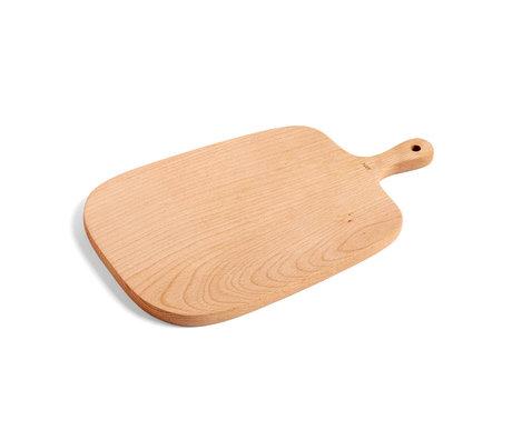 HAY Cutting board Rectangular M brown wood 33x20cm