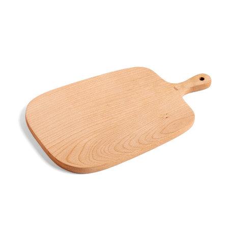 HAY Planche à découper Rectangulaire M bois brun 33x20cm