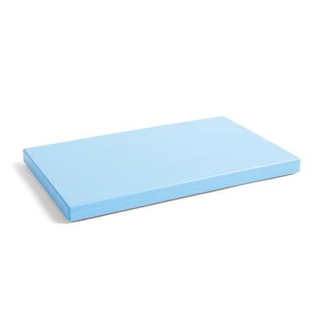 HAY Cutting board Rectangular L light blue plastic 40x25x2.5cm