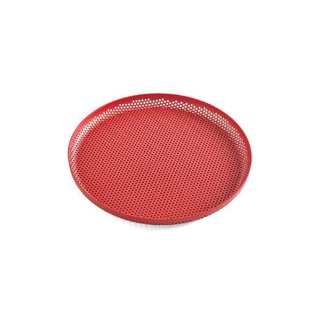 HAY Vassoio Tray Tray M rosso alluminio Ø26,5x2cm
