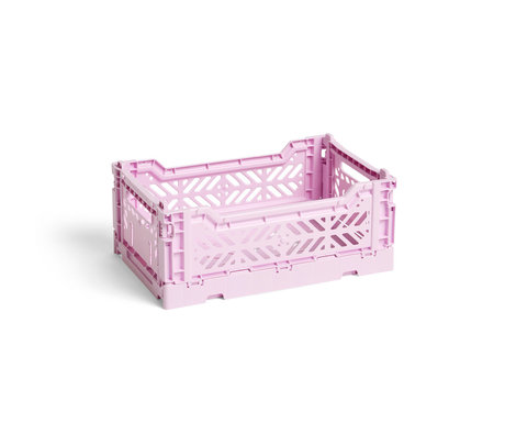 HAY Crate Color Crate S lilac plastic 26.5x17x10.5cm