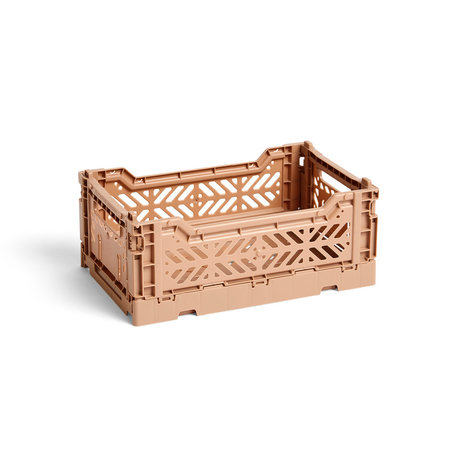 HAY Crate Color Crate S plastica marrone 26,5x17x10,5cm