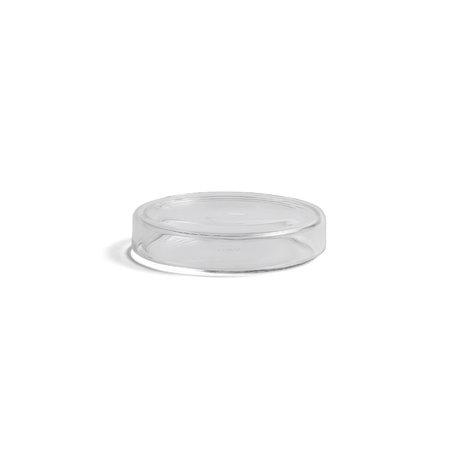 HAY Scatola portaoggetti Bits and Bobs XS vetro trasparente Ø8x1,5cm