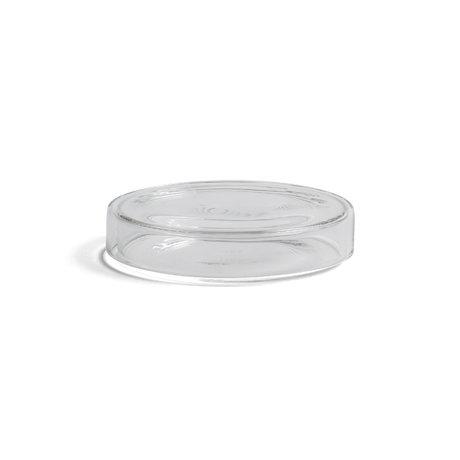 HAY Aufbewahrungsbox Bits and Bobs M transparentes Glas Ø11x2cm