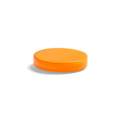 HAY Aufbewahrungsbox Bits and Bobs Farbe XS orange Glas Ø8x1,5cm