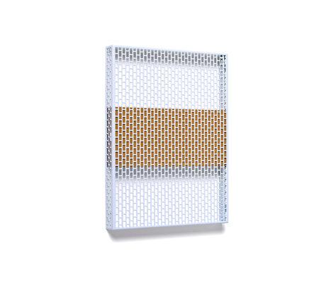 HAY Wandplatte Pinorama S hellblauer Stahl 37x50cm