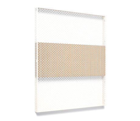 HAY Piatto da parete Pinorama L acciaio crema 68x83cm
