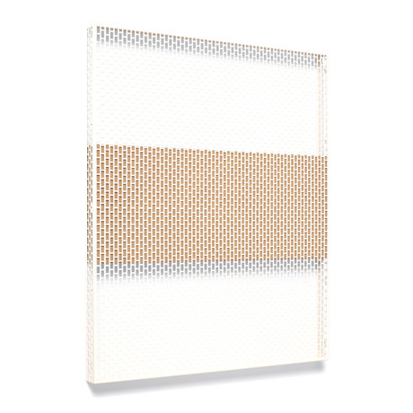 HAY Plato de pared Pinorama L acero crema 68x83cm