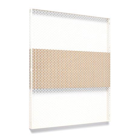 HAY Wall plate Pinorama L cream steel 68x83cm