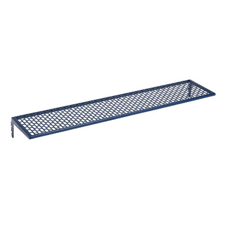 HAY Wall shelf Pinorama L dark blue steel 66x12.5cm