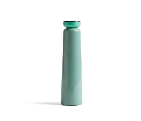 HAY Bottiglia Sowden 0,5L verde menta in acciaio inossidabile Ø7x26cm