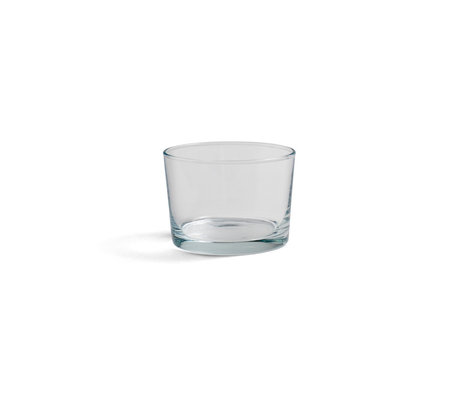 HAY Glass Glass S 22cl verre transparent Ø8,5x6cm