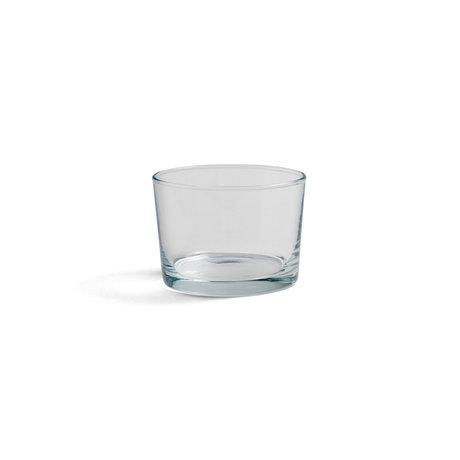 HAY Glass Glass S 22cl vetro trasparente Ø8,5x6cm