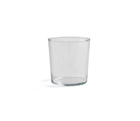 HAY Glass Glass M 36cl transparent glass Ø8.5x9cm