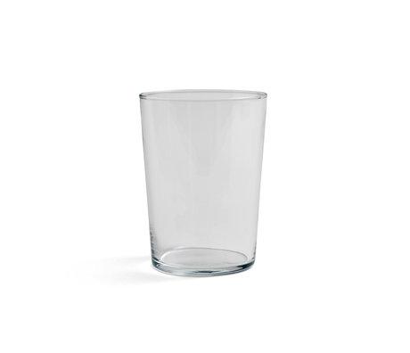 HAY Glass Glass L 49cl transparent glass Ø8.5x12cm