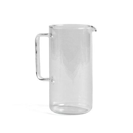 HAY Krugglas L 2L transparentes Glas Ø12x23,5cm