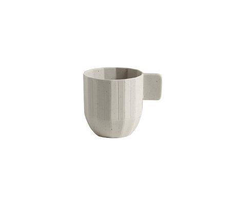 HAY Tasse à expresso Paper Porcelain 150ml céramique gris clair Ø5.5x6cm