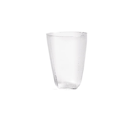 HAY Bicchiere in Tela di vetro L 47cl vetro trasparente 11.5cm
