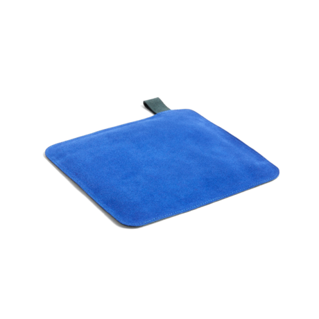 HAY Manique Pot textile bleu 21,5x21,5cm