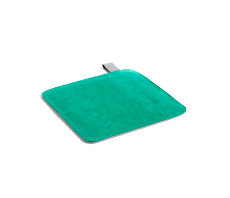 HAY Manique Pot textile vert 21,5x21,5cm