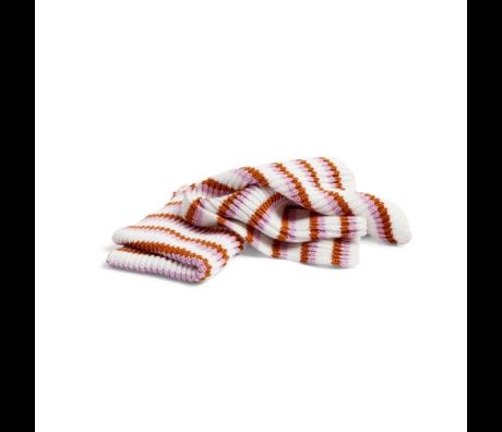 HAY Geschirrtuch Tricolore Rose rosa Baumwolle Set von 2 30x22cm