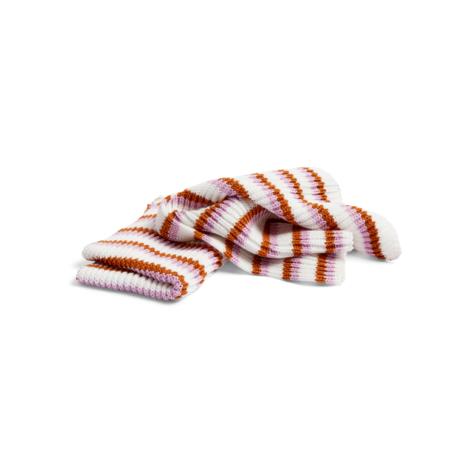 HAY Linge à vaisselle Tricolore Rose en coton rose lot de 2 30x22cm