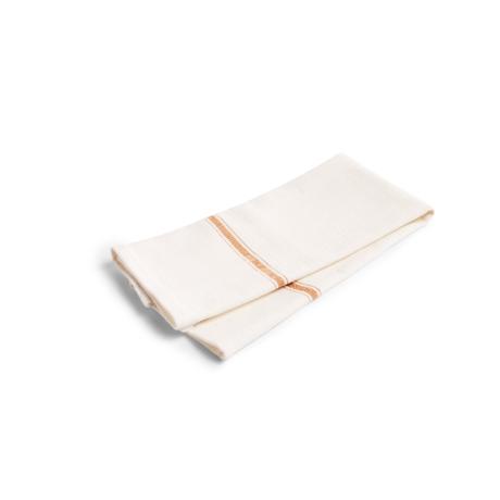 HAY Strofinaccio Cucina Asciugamano in cotone marrone set di 2 70x45cm