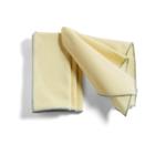 HAY Set de 4 Set de table Contour coton jaune clair 46x34cm