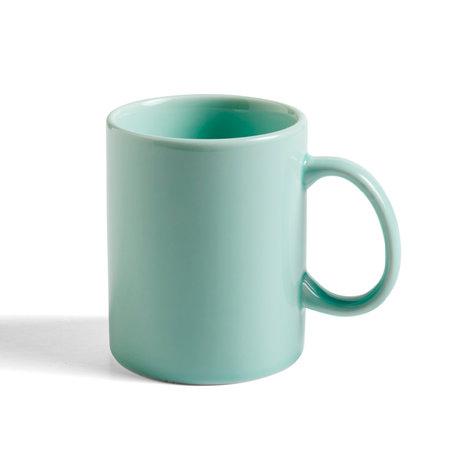HAY Tasse Regenbogen 250ml mintgrünes Porzellan Ø7.5x9cm