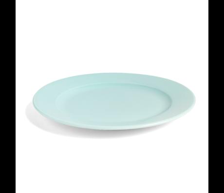 HAY Plate Rainbow M mint green porcelain Ø24cm
