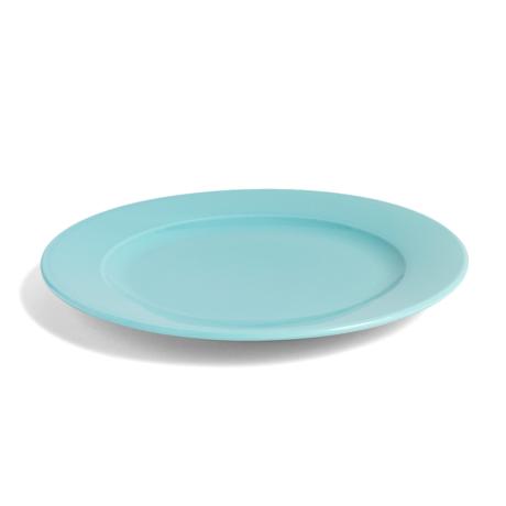 HAY Assiette Rainbow M porcelaine vert aqua Ø24cm