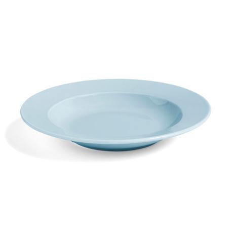 HAY Plate Rainbow Deep light blue Ø22cm