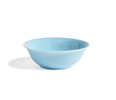 HAY Bowl Rainbow S light blue porcelain Ø14x4.5cm