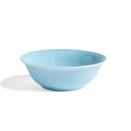HAY Bol Rainbow S porcelaine bleu clair Ø14x4,5cm