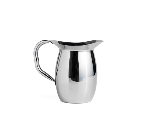 HAY Pitcher Indian Steel Pitcher silver stainless steel 22.5x19x14.5cm