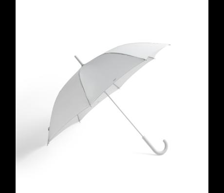 HAY Ombrello Mono in plastica grigio chiaro Ø107x88,5cm