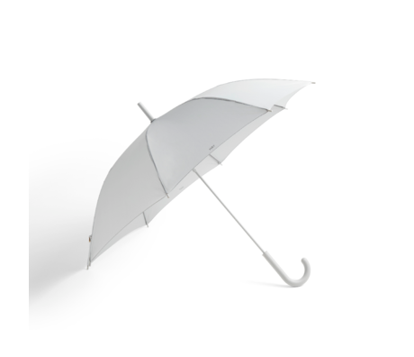 HAY Parapluie Mono plastique gris clair Ø107x88,5cm
