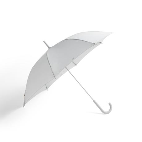 HAY Paraguas Mono plástico gris claro Ø107x88.5cm
