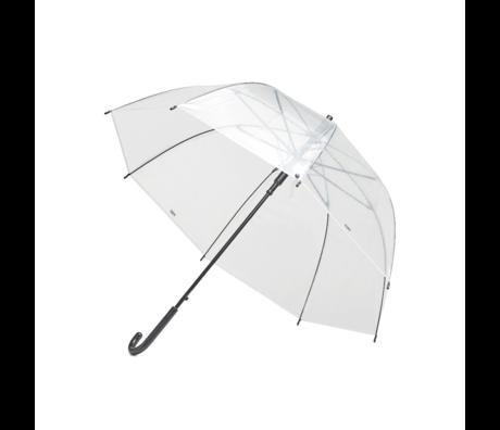 HAY Parapluie Canopy plastique transparent Ø87x81cm