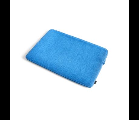 HAY Custodia per laptop Hue da 15,6 pollici in tessuto blu 41x27,5 cm