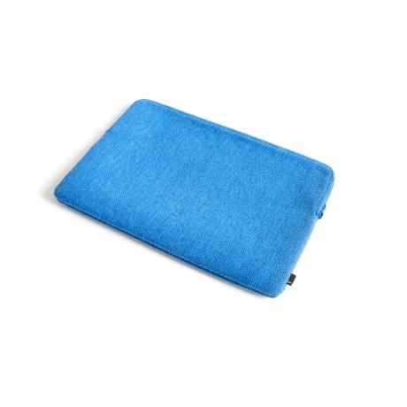 HAY Housse ordinateur portable Hue 15,6 pouces textile bleu 41x27,5 cm