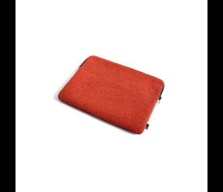 HAY Housse pour ordinateur portable Hue 13,3 pouces textile rouge 35,5x26 cm