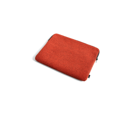 HAY Laptop sleeve Hue 13.3inch red textile 35.5x26cm