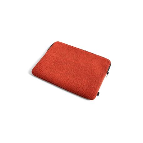 HAY Funda para portátil Hue 13,3 pulgadas textil rojo 35,5x26 cm