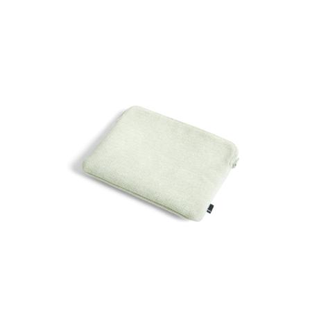 HAY Cover per iPad Hue verde menta in tessuto 26x21cm