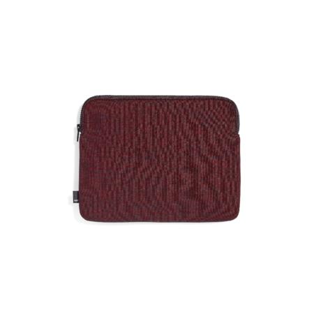 HAY Tablet sleeve Zip red textile 26.5x21.5cm