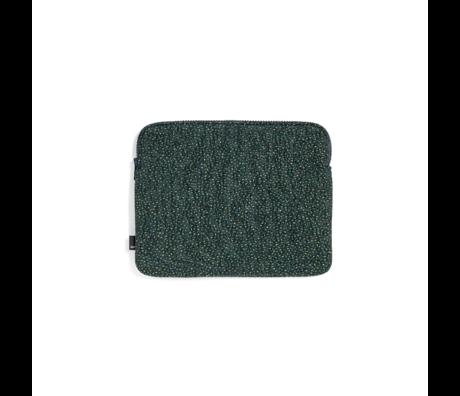 HAY Tablet sleeve Zip green textile 26.5x21.5cm